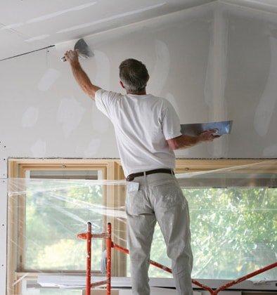 gib stopper plastering